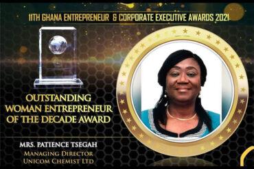 Outstanding Woman Entrepreneur of The Decade